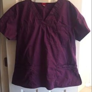 Purple scrubs size large